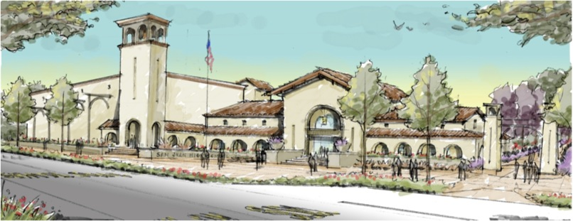 San Juan High School Administration Building Rendering