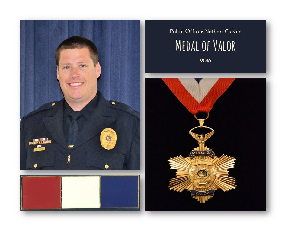 Medal of Valor - 2016 - Culver