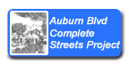 Auburn Boulevard Complete Streets Project button