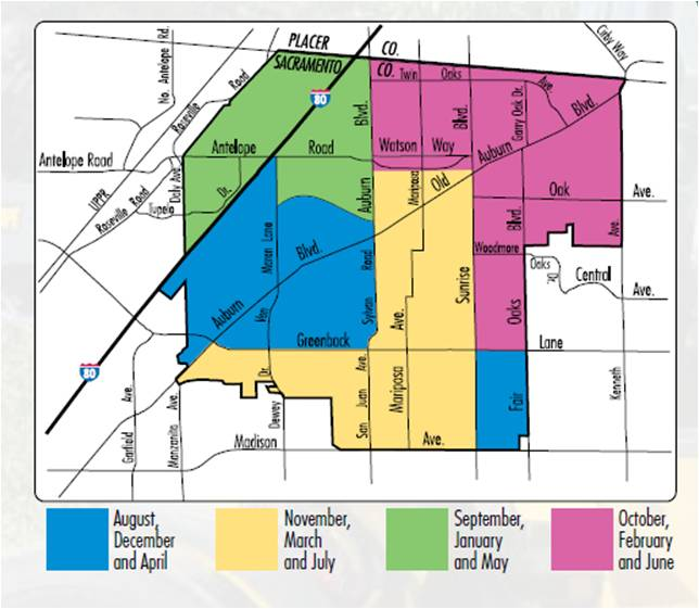Neighborhood Cleanup Map