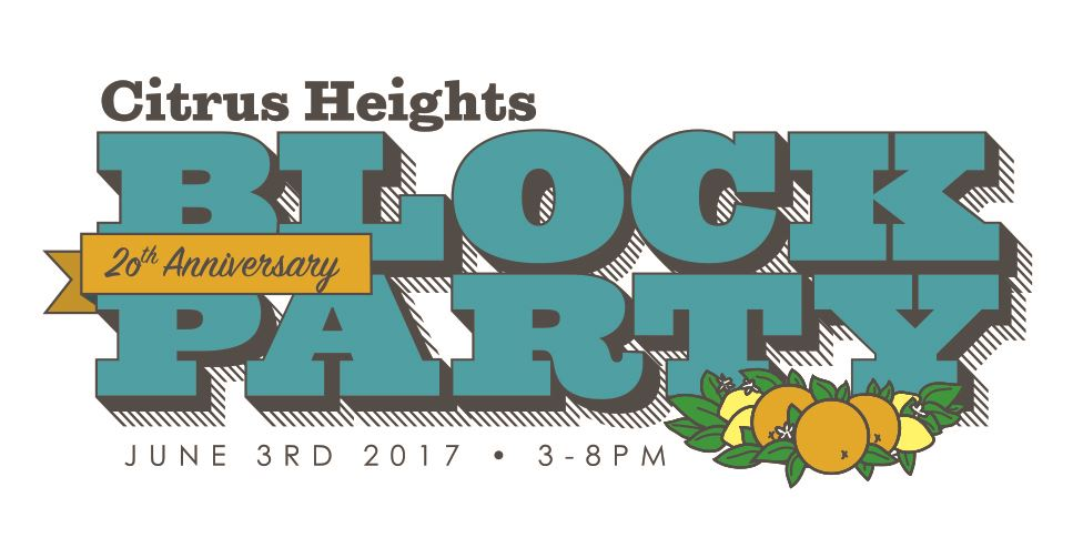 Citrus Heights Block Party Logo