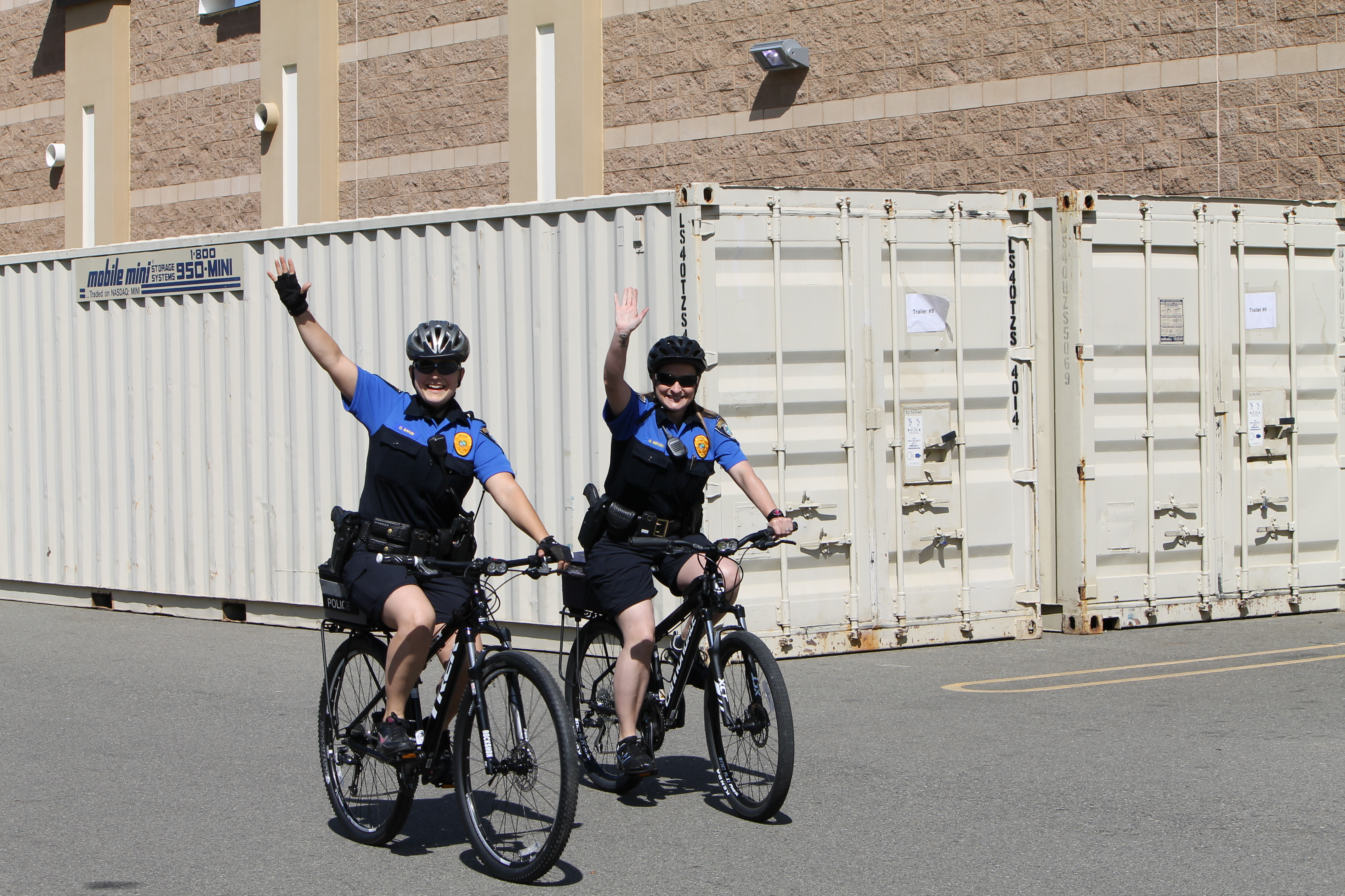 PD bicycle officers