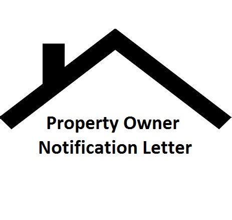 Property Owner Notification