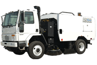 QB-Commercial Street Sweeping truck