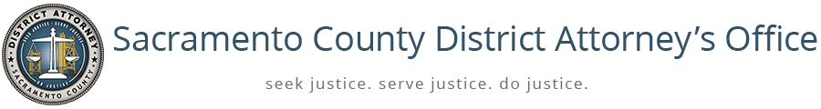 Sacramento County District Attorney logo Opens in new window